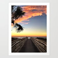 The Path to the Bright Side Art Print