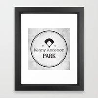 Kenny Anderson Park Framed Art Print