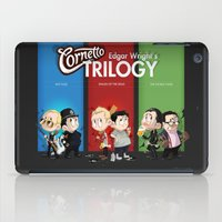 The Three Sweetest Flavours iPad Case
