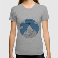 You Are My Everest Womens Fitted Tee Athletic Grey SMALL