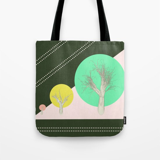 In my world forests are geometric Tote Bag