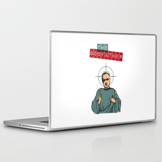 The godfather Laptop & iPad Skin