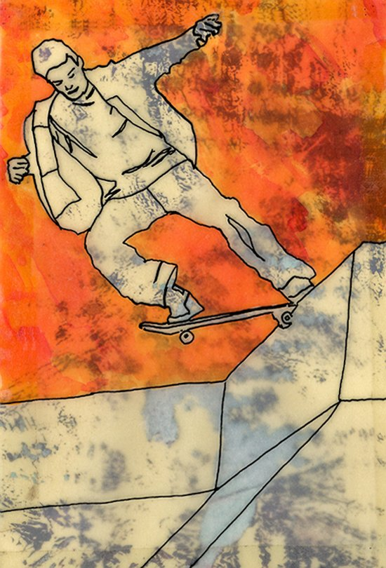 BackSide Tail. Art Print