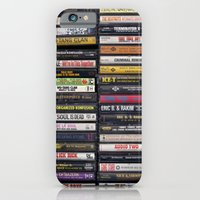 Old 80's & 90's Hip Hop Tapes iPhone 6 Slim Case