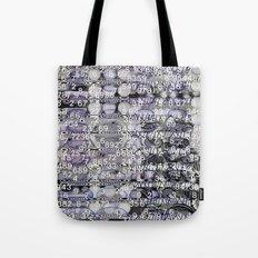 Post-Digital Tendencies Emerge (P/D3 Glitch Collage Studies) Tote Bag
