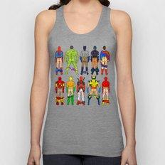 Superhero Butts Unisex Tank Top