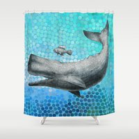 New Friends 3 By Eric Fa… Shower Curtain