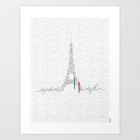 Eiffel Tower | Paris, Fr… Art Print