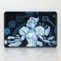 Project M - Blue Print Edition iPad Case