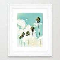 Paradise & Heaven Framed Art Print