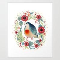Fruit Dove I Art Print
