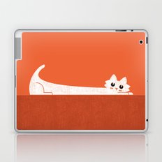 Mark's Superpower: cat Superstretch Laptop & iPad Skin
