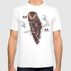 HATKEE Collaboration by Kyle Naylor and Kris Tate SMALL Mens Fitted Tee White