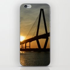 Sunset Bridge iPhone & iPod Skin