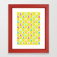 Yummy Cherries Framed Art Print