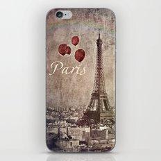springtime in Paris iPhone & iPod Skin