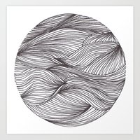 Círculo Art Print
