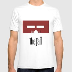 The Fall - Minimal Poster Mens Fitted Tee White SMALL