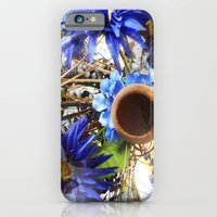 iPhone & iPod Case featuring Dancing in Purple Prose Carousel by RokinRonda
