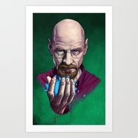 Heisenberg (Breaking Bad) Art Print