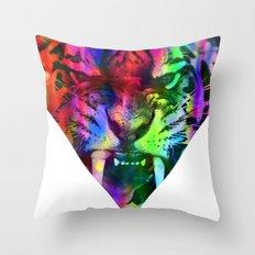 Tigre 2 Throw Pillow
