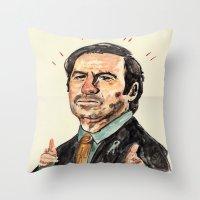 saul! Throw Pillow