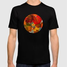 Autumn leaves 1 Mens Fitted Tee Black SMALL