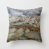 Rome In The Time Of Cons… Throw Pillow