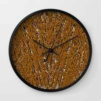 maserung Wall Clock