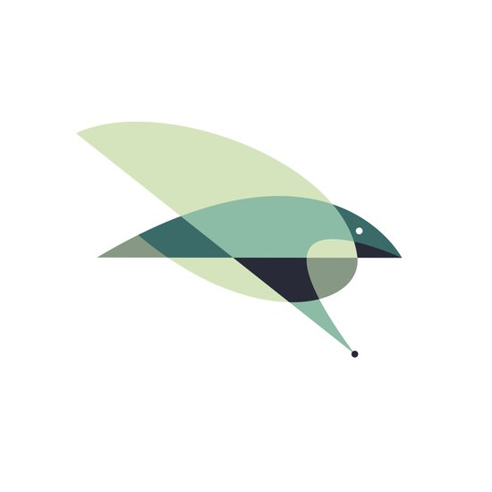 Contours: Hawk Art Print