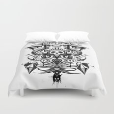 Create or Die Duvet Cover
