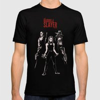 The Baddest Slayer Alive Mens Fitted Tee Black SMALL
