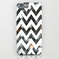 iPhone & iPod Case featuring Chevron Glitter by ParadiseApparel