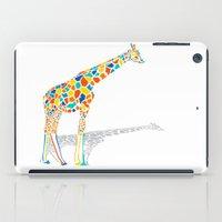 Technicolor Giraffe iPad Case