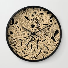 Curious Collection No. 9 Wall Clock