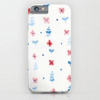 iPhone & iPod Case featuring Little flowers by Laura Gómez