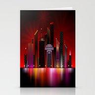 City Nights 1 Stationery Cards