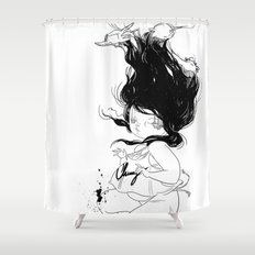 Plunge Shower Curtain