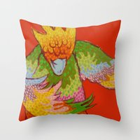 DANCE II Throw Pillow
