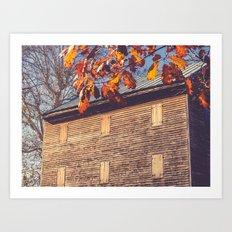 Rock Mill 2 Art Print
