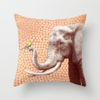 New Friends 2 By Eric Fa… Throw Pillow