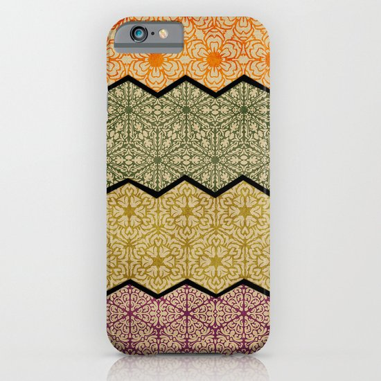 Pattern, Zig, Pattern, Zag, Repeat iPhone & iPod Case