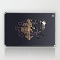 Dark Wood Laptop & iPad Skin