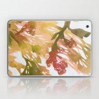 Morning Blossoms 2 - Olive Variation Laptop & iPad Skin