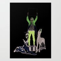 Art Print featuring Silencio by Mexican Zebra