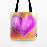 Colorful Heart Tote Bag