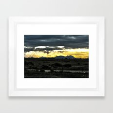 Cometh Framed Art Print
