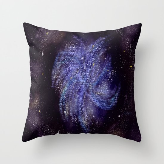 Pinwheel Galaxy Throw Pillow