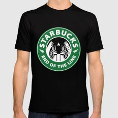 starbucky Mens Fitted Tee SMALL Black