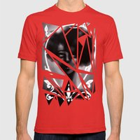 West Rise to Frame Mens Fitted Tee Red SMALL